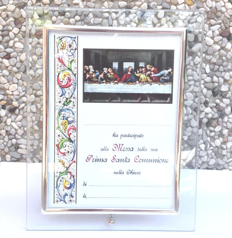 Cornice vetro 20x15 portafoto o per pergamena 10x15 prima for Cornici per foto 10x15