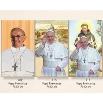 Santino Papa Francesco 7x12 100pz