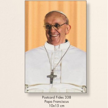 10 Cartoline Papa Francesco 10x15