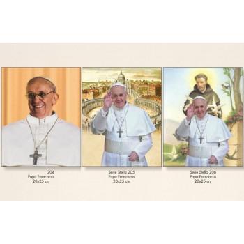 Poster Papa Francesco 20x25