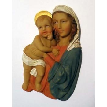 Placca da muro Madonna con Bambino da €2,50