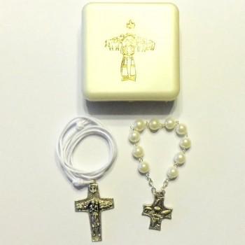 Cofanetto Prima Comunione con Crocetta di Papa Francesco