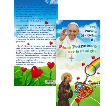 Portachiavi Papa Francesco Famiglia: Permesso Grazie Scusa