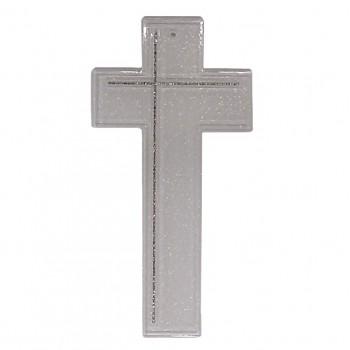 Croce Vetro brillantinata