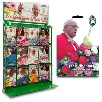 Busta con Semi di Fiori di Papa Francesco