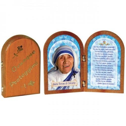 Dittico Santa Madre Teresa di Calcutta da €3,50