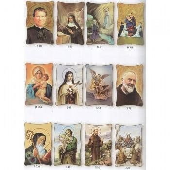 Tavoletta Media Icone Maria e Sante 15x10 cm da € 2,00