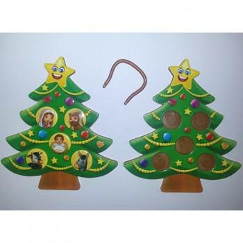 Alberello Natale per l'Avvento in Polimero