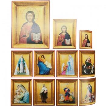 Quadretto Icona 15,5x19 cm