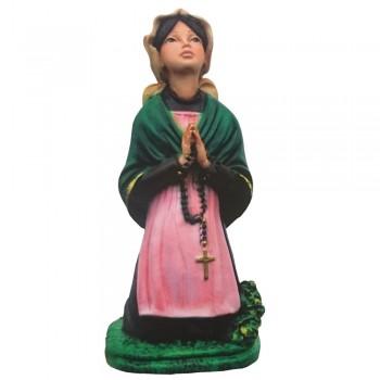 Statua Santa Bernadette in resina 25 cm