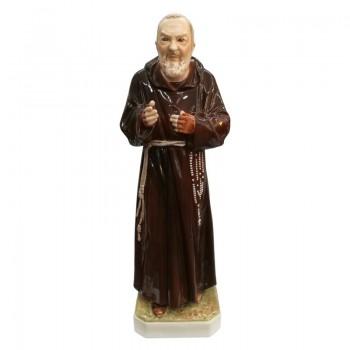 Statua Padre Pio 60 cm in porcellana