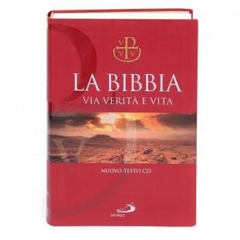 La Bibbia. Via verità e vita, copertina morbida