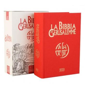Bibbia di Gerusalemme Telata rossa