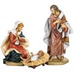 Statue Presepio 65cm Fontanini tinta legno