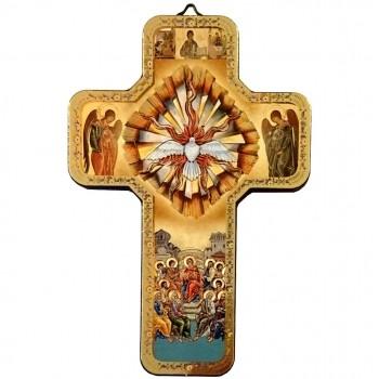 Croce Dorata Spirito Santo