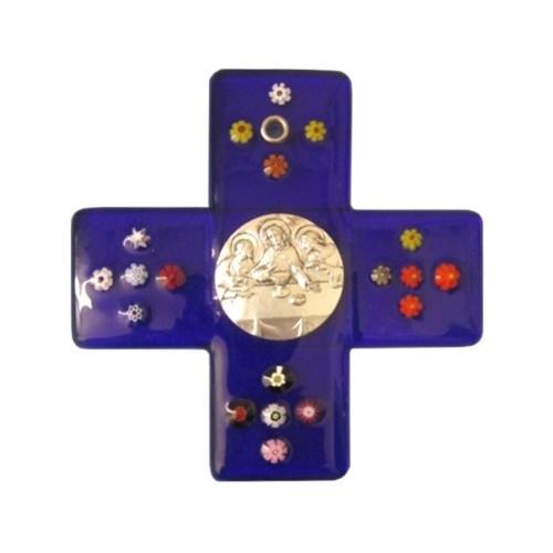 Croce Vetro di Murano per Prima...