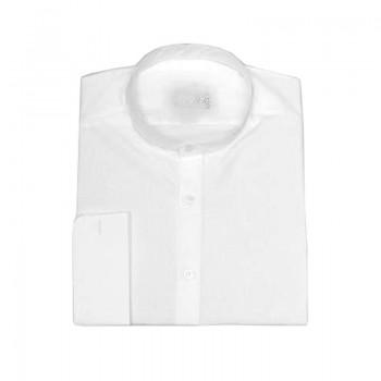 Camicia collo talare 100% cotone MM