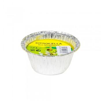 Vasetto alluminio Citronella Ecologica