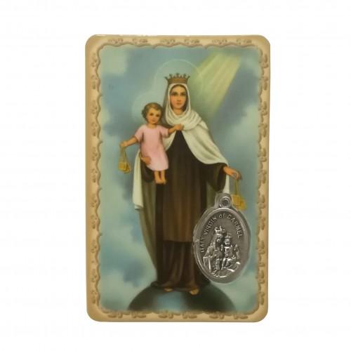 Santino Madonna Carmelo doppia immagine