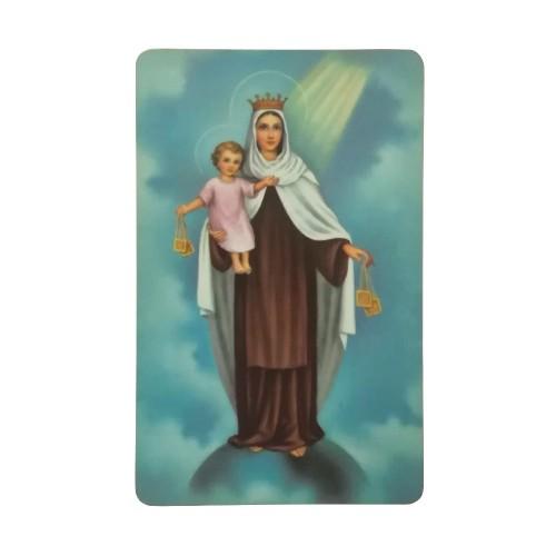 Santino Madonna Carmelo con Medaglia