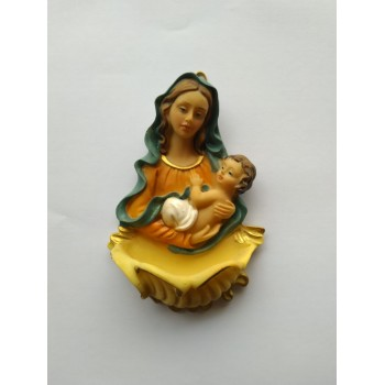 Acquasantiera Madonna con Bambino