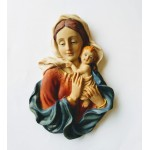 Placca Madonna con Bambino