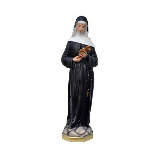 Statua Santa Rita da Cascia resina 60 cm