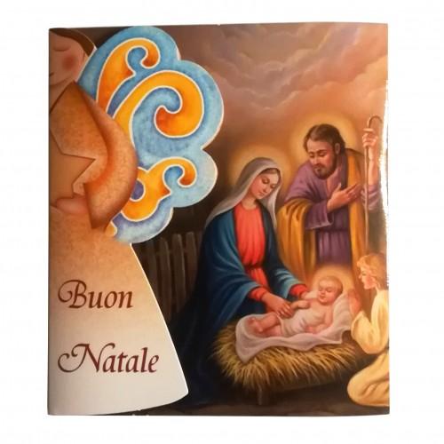 Biglietto Auguri Natale - Angelo custode