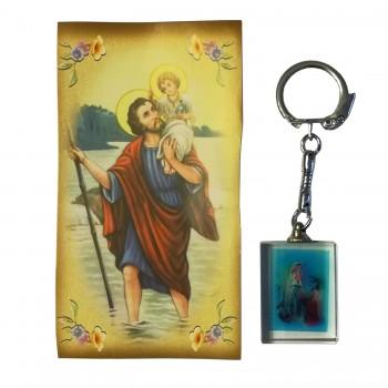 Portachiavi Vetro Madonna