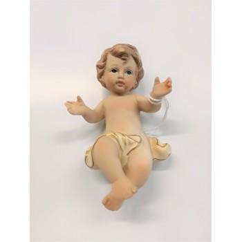 Gesù Bambino porcellana 11 cm
