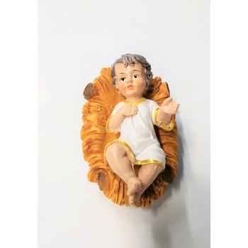 Gesu' Bambino con culla