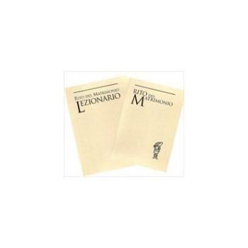 Rito del matrimonio e lezionario (2 volumi). Nuova Ed. 2009