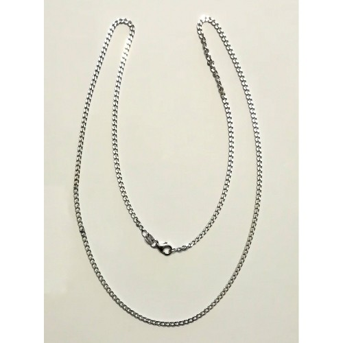 Collanina Argento 60 cm