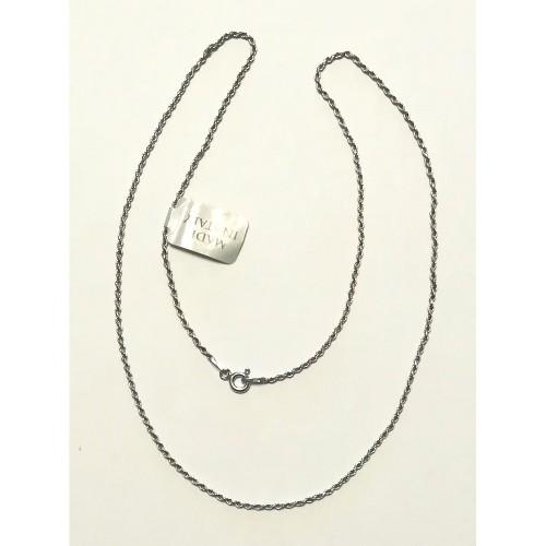 Collanina Argento 45 cm