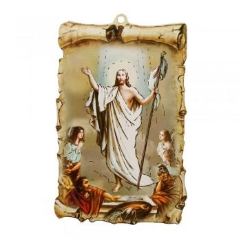 Tavoletta Gesù Risorto