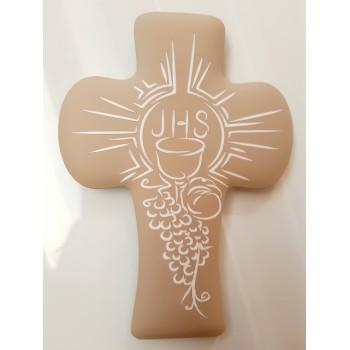 Croce calice avorio