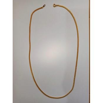 Collanina in Metallo Dorato 61cm