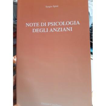 NOTE DI PSICOLOGIA DEGLI ANZIANI