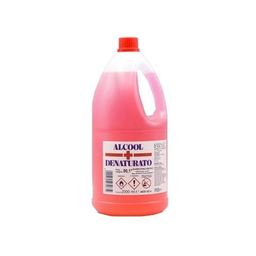 Alcool Denaturato 90% 2 litri