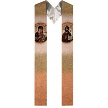 Stola Cristo Pantocratore e Madonna tenerezza