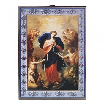 Tavoletta Icona Maria che Scioglie i Nodi