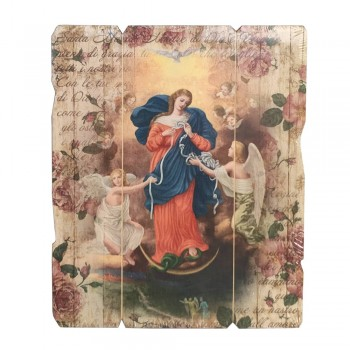 Quadro Maria che scioglie i nodi