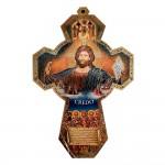 Croce con Gesù e Credo