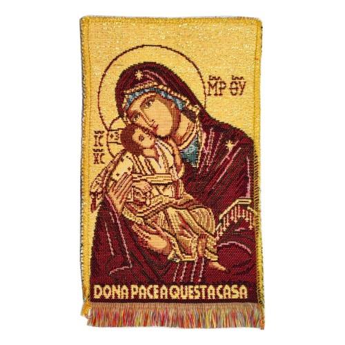 Quadretto Arazzo Madonna della Tenerezza