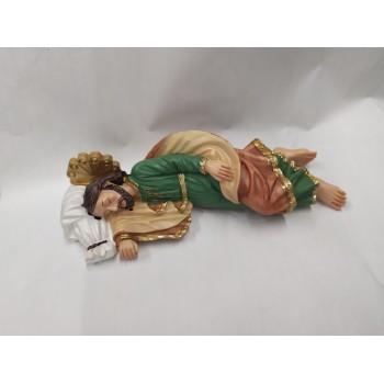 San Giuseppe Dormiente Resina 19,5 cm