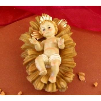 Gesù Bambino con culla cm12x8 da € 3
