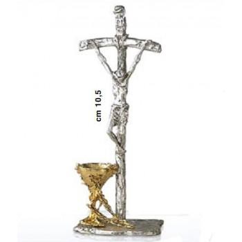 Croce con calice cm 10.5