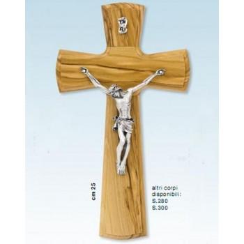 Croce in olivo cm.25
