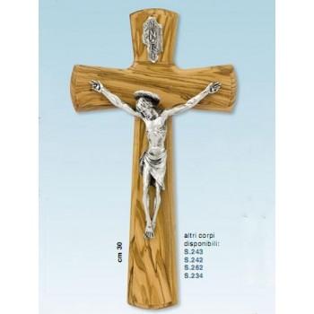 Croce in olivo cm.30