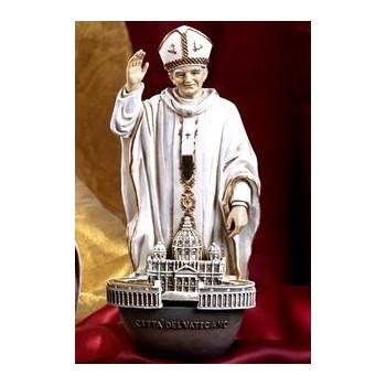 Acquasantiera 20cm San Giovanni Paolo II